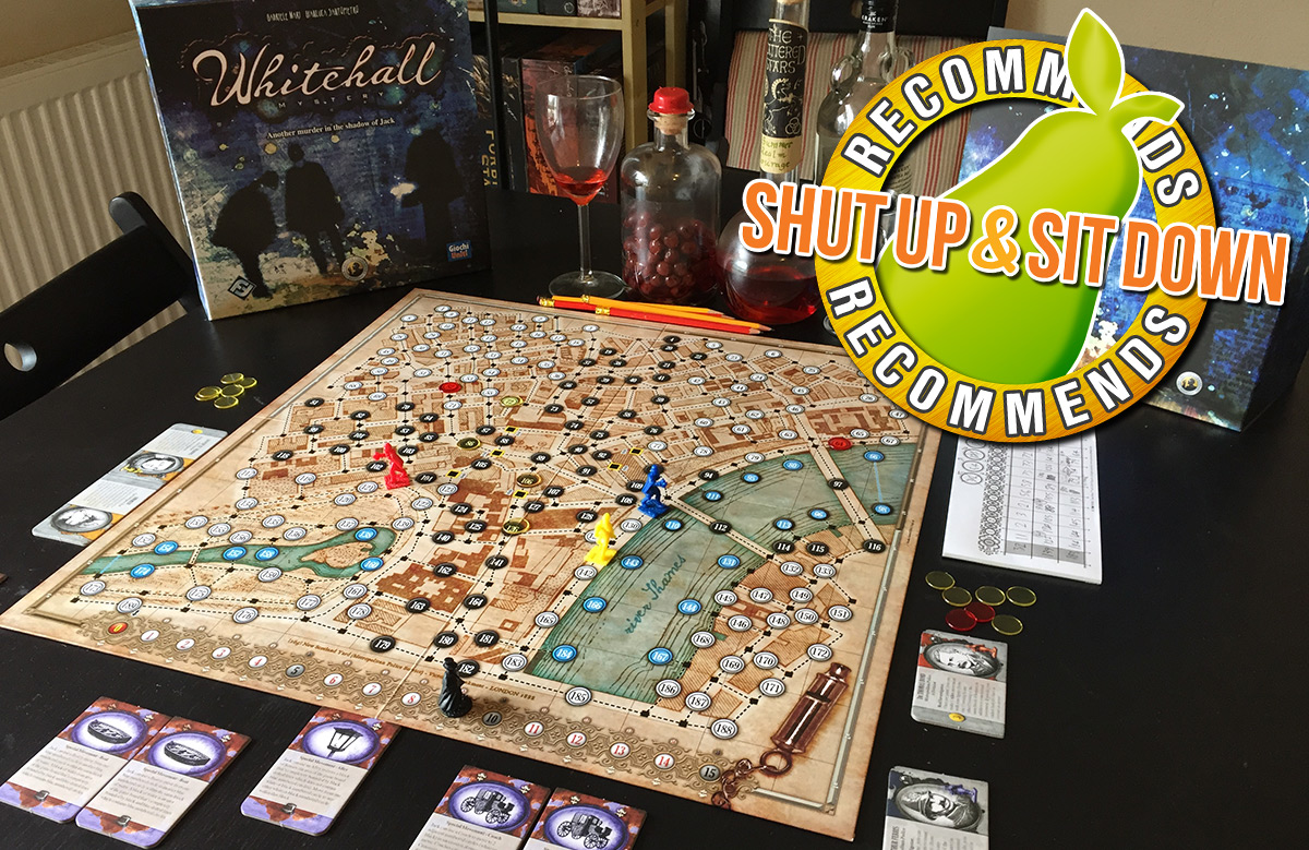 Review: Whitehall Mystery - Shut Up & Sit Down