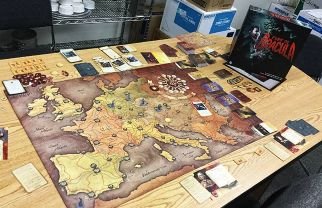 Impressions: Fury of Dracula 3rd edition
