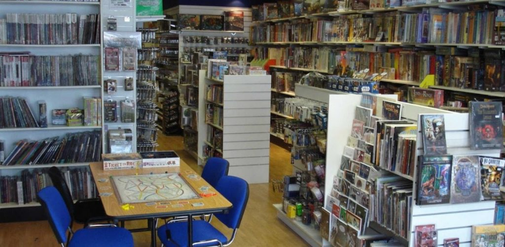 Tabletop Day is April 5th! Come meet Quinns!